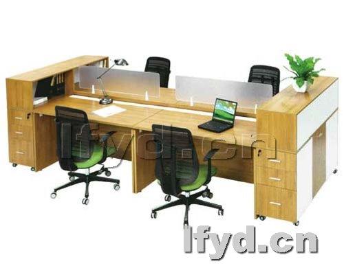 天津办公家具提供生产实木屏风工位厂家