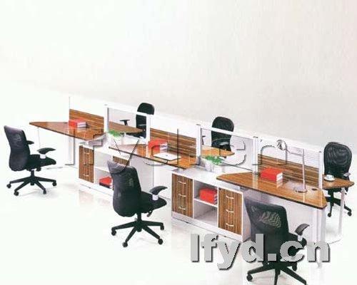 天津办公家具提供生产六人位屏风工位厂家