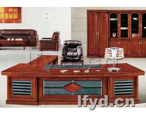 天津办公家具提供生产红木家具老板台厂家