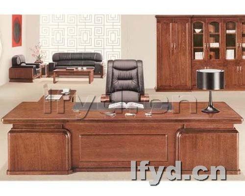 老板台 天津办公家具提供生产实木台-天津实木家具供应 天津实木家