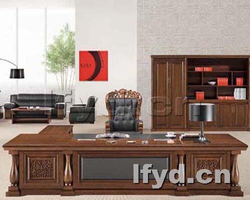 天津办公家具提供生产特价老板台厂家