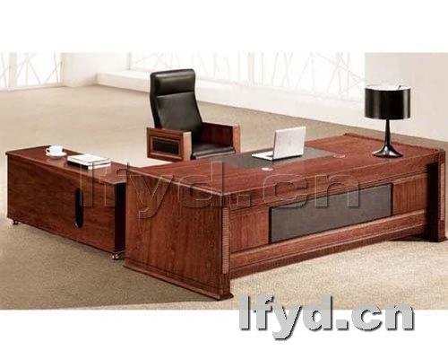 天津办公家具提供生产紫檀木纹石老板台图片厂家