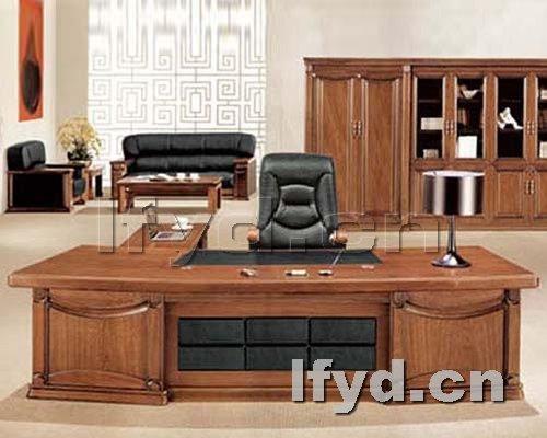 天津办公家具提供生产大气简约型欧式大班台厂家