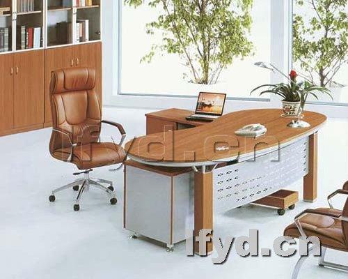 天津办公家具提供生产新款高级经理台厂家