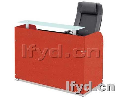 天津办公家具提供生产简约前台设计效果图厂家