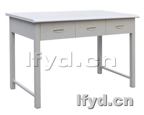 天津办公家具提供生产六人双面阅览桌厂家
