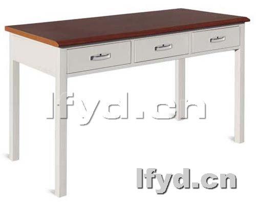 钢木阅览桌|阅览桌|天津办公家具提供生产钢木阅览桌
